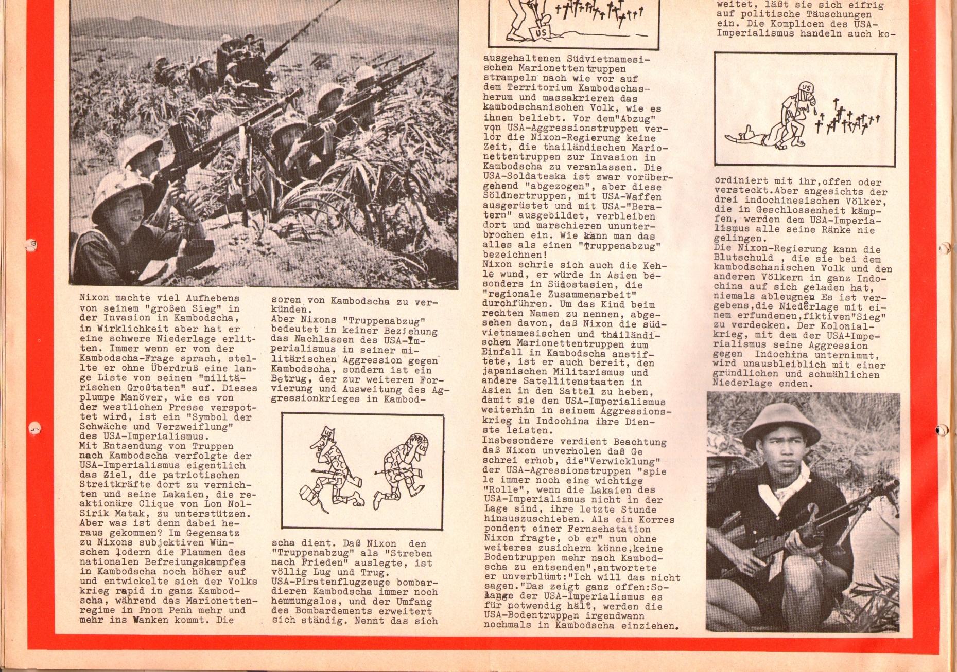 Rote Fahne, 1. Jg., 26. August 1970, Seite 4 unten