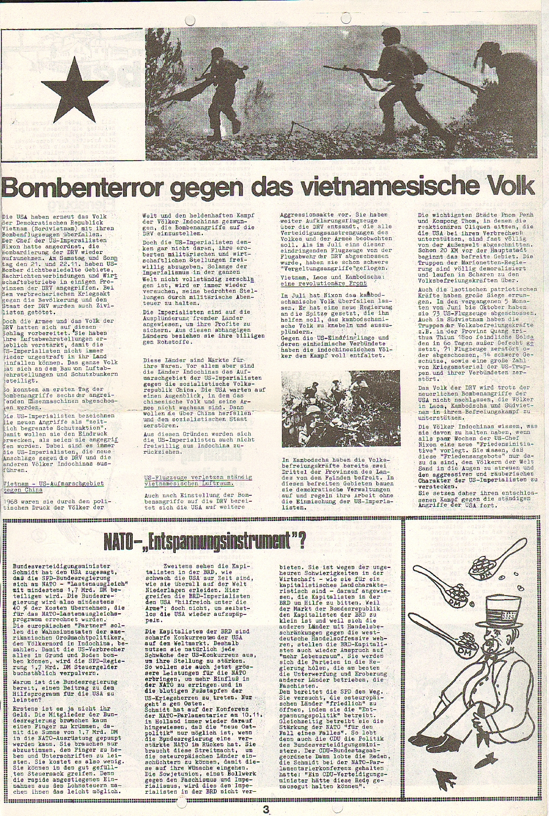 Rote Fahne, 1. Jg., 7.12.1970, Nr. 5, Seite 3