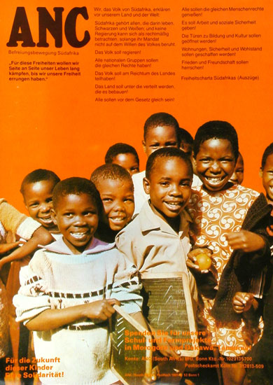 ANC _ Befreiungsbewegung Südafrikas (Plakat)