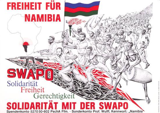 Freiheit für Namibia _ Solidarität mit der SWAPO (1976)