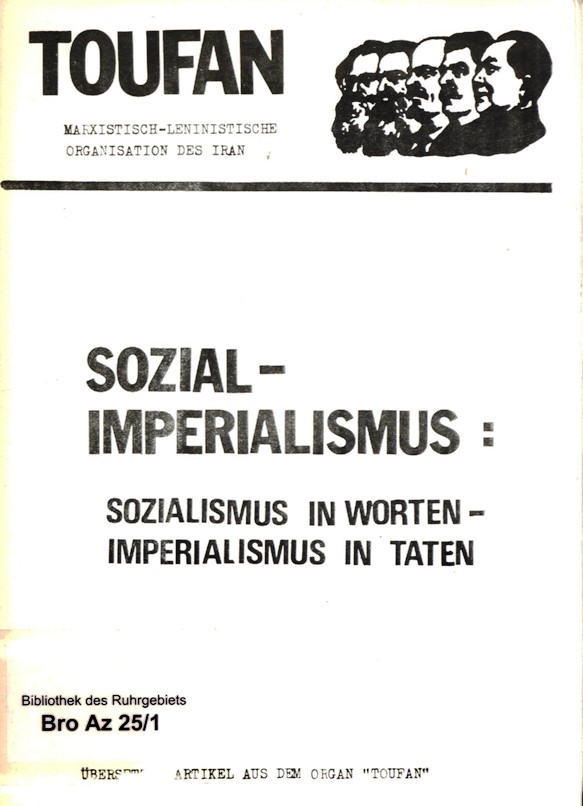 Toufan_1970_Artikel_zum_Sozialimperialismus_01