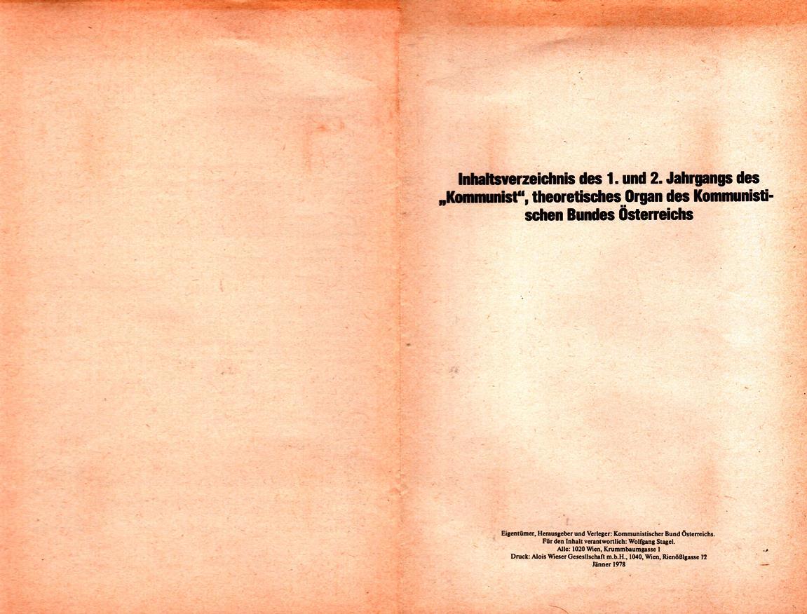 KBOe_TO_Kommunist_19780100_Inhalt_001