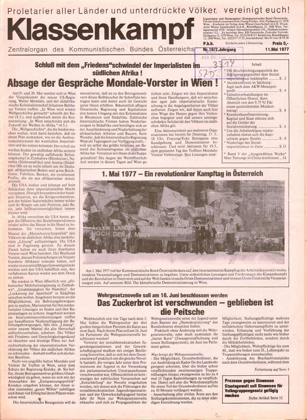 KBOe_Klassenkampf_1977_10_01