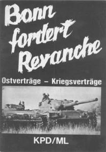 Broschüre: Bonn fordert Revanche