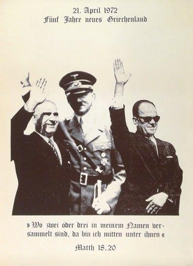 Fuenf Jahre neues Griechenland (Plakat, 1972)
