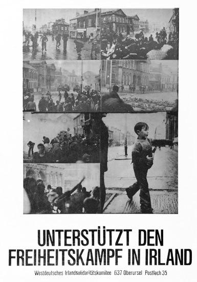 Plakat: WISK Freiheitskampf in Irland (Datum unbekannt)