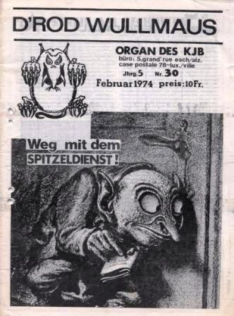 D'Rod Wullmaus _ Organ des KJB, Februar 1974