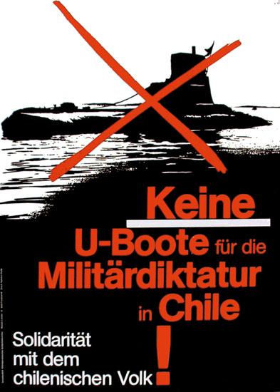 Keine U_Boote fuer die Militaerdiktatur in Chile