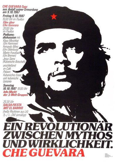 Plakat zur Veranstaltung: Che Guevara _ Ein Revolutionär zwischen Mythos uns Wirklichkeit