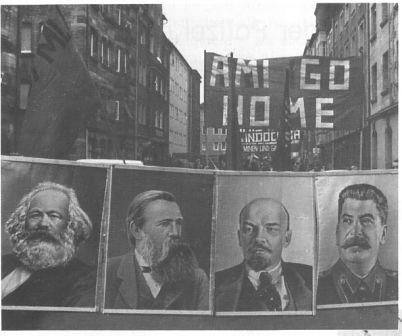 Demonstration 1972: Ami go home