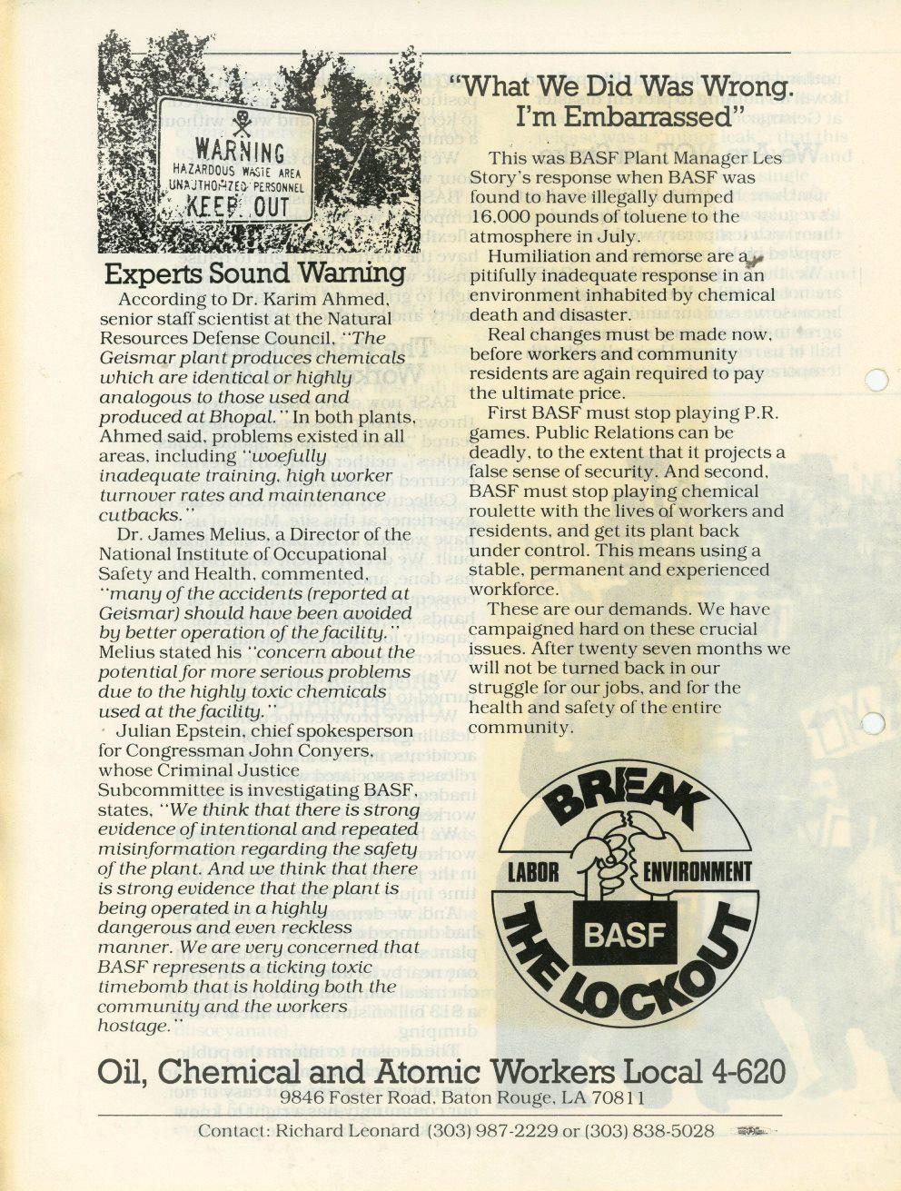 USA_BASF_Aussperrung_in_Geismar_1986_5_04