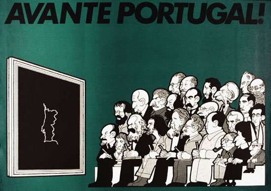 Avante Portugal! (Plakat 1974)