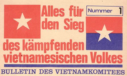 Kopf des Bulletins des NVK (1972)