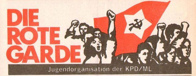 Kopf der Zeitung der Roten Garde (April 1975 _ März 1978)