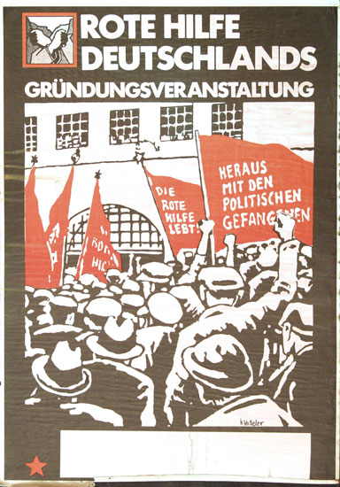 Plakat zur RHD-Gründungsveranstaltung
