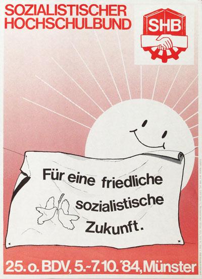 Für eine friedliche sozialistische Zukunft - SHB (1984)