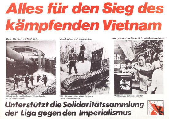 Bildquelle: HKS 13 (Hg.): vorwärts bis zum nieder mit. Plakatbuch Band 2, Berlin 2001